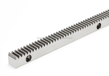 Rack gear with bolt holes Module 1.5 Stainless steel Length 300mm Made in Japan KG STOCK GEARS