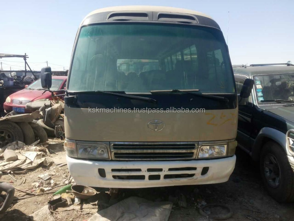 Used Toyota COASTER dissel bus for sale coast 30 setes japan bus for sale