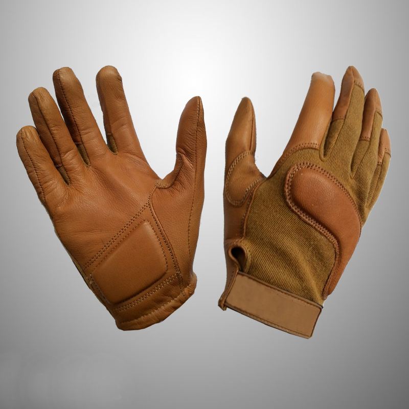 Men's Motorcycle leather gloves from genuine goat leather with low price