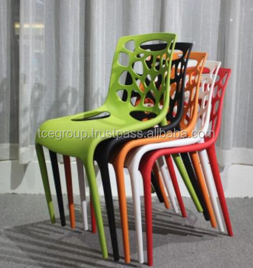 2017 top modern plastic living dinning leisure chair manufacturer in malaysia
