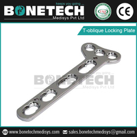 T-oblique Locking Plate Made from Topmost Quality Raw Materials