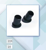 PLASTIC OUTER ROUND END CAP