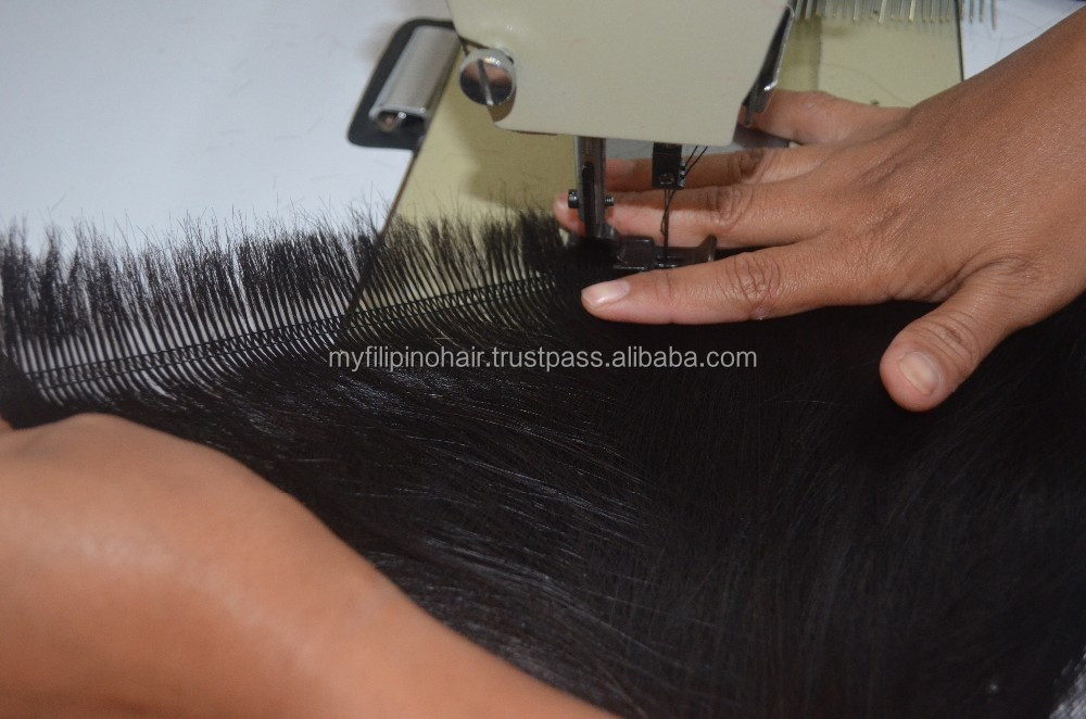 Machine Weft Hair Extensions Supplier