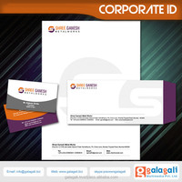 Static Corporate identity and Brochure Design Company in India at best price