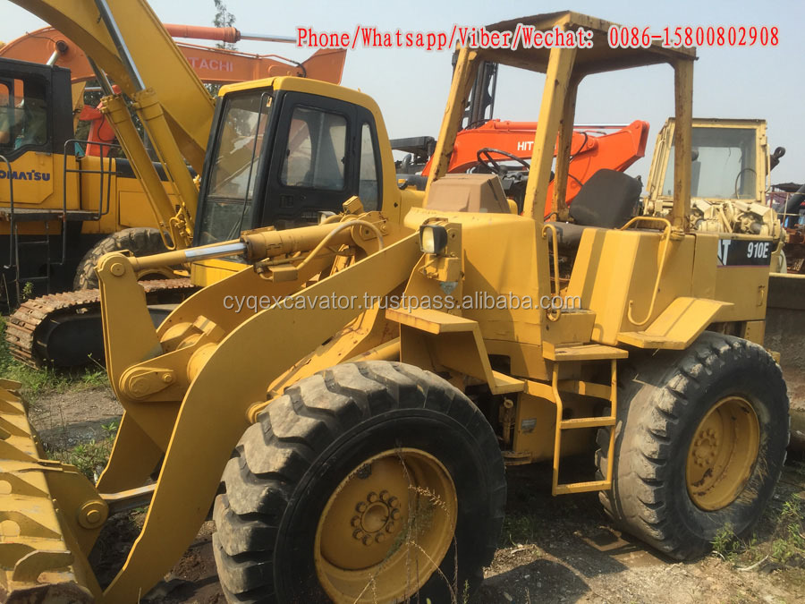 Offer used cat 910e wheel loader, used cat 910 wheel loaders hot sale
