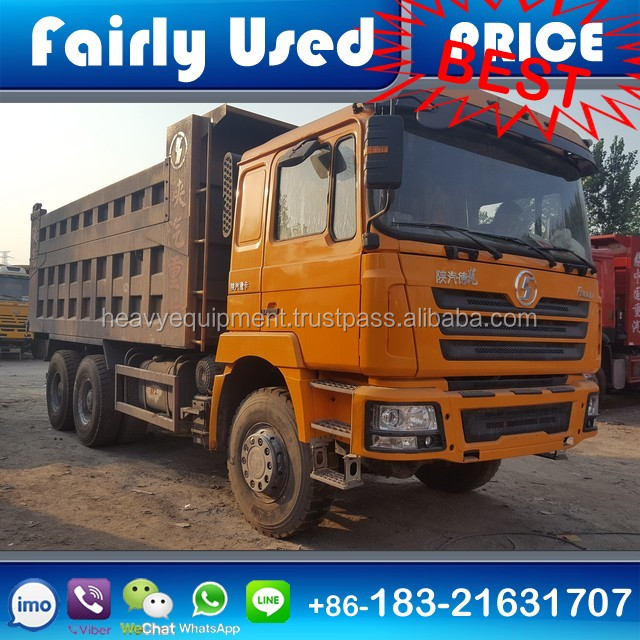 Used China Truck 6x4 Heavy Duty Truck Shacman F3000 Dumper Truck for sale