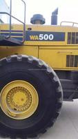 Used Komatsu Wheel Loader WA500-6 Komatsu WA500 Loader for sale