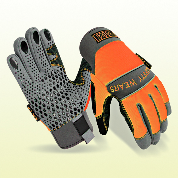 Mechanic Work Gloves for Hand protection