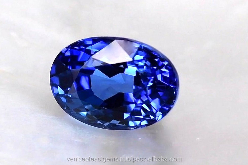 Grade AAAA+ Natural Blue Sapphire from Ceylon with top quality @ wholesale price per carat - Available in variety shapes