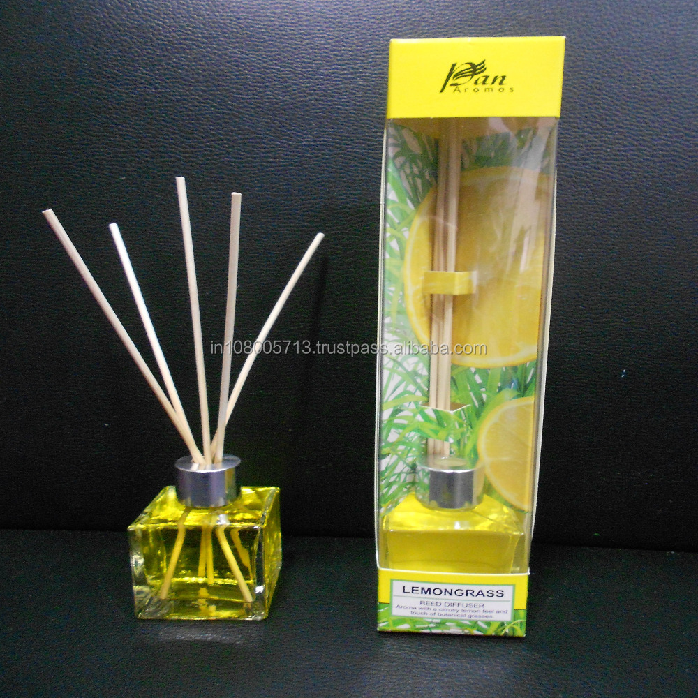 Lemongrass Fragragrance Reed Diffuser Aroma Diffuser Air Freshners