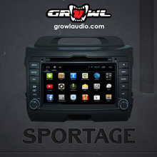 "OEM ANDROID HEAD UNIT 8"" CAPACITIVE TOUCH FIT FOR KIA SPORTAGE 2010-2014"