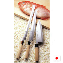 Durable smart chef kitchen knife with various sizes made in Japan