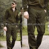 Italian Army fans outdoor overalls cotton trousers male commando tactics casual loose pants thin with large yards
