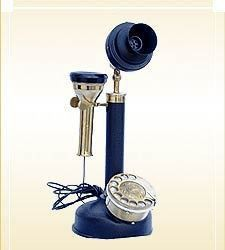Antique, vintage and decorative telephone