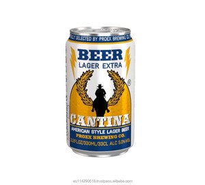 CANTINA Premium Lager Beer 5.0% canned 24x33cl