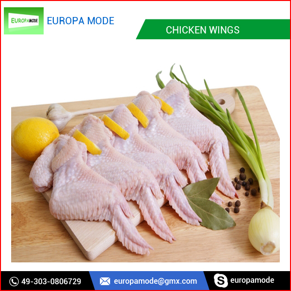 100% Fresh Processed Frozen Chicken Three Joint Wings