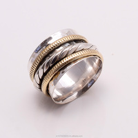 925 Solid Sterling Silver Brass Copper Hammer Ring,925 sterling silver jewelry wholesale
