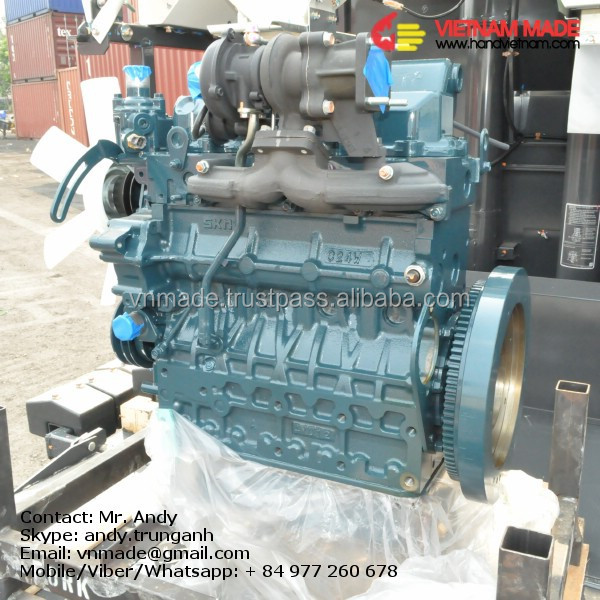 KUBOTA water pump diesel engineV2403-M-DI-TE-CK3T