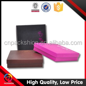 drawer style custom paper jewelry packaging box