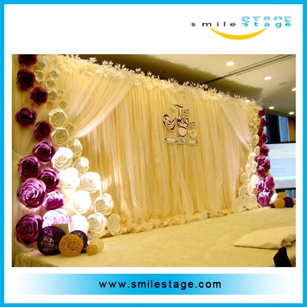 wholesale wedding cheap pipe and drape alternatives with 6082-T6 aluminum