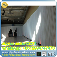 WHOLESALE pipe and drape wedding backdrop LOWEST PRICE cheap out door wedding pipe and drape kits