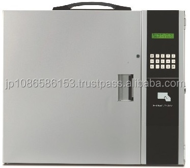 IC card locking storage box for key blanks wholesale with pin codes authentication