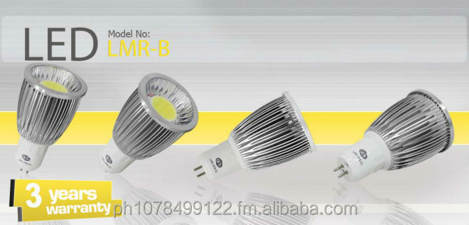 GES LED Lights MR16 3rd Generation COB LED
