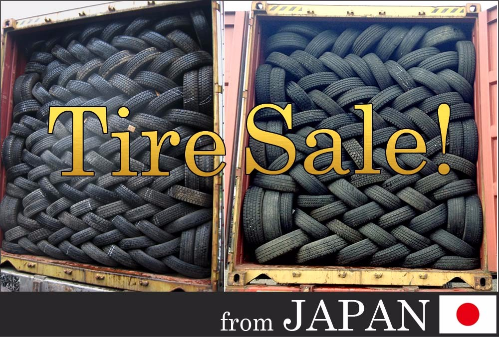 Used passenger tires from Japan