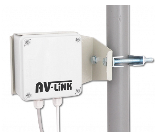5.8Ghz Audio Video wireless Sender to CCTV solutions up to 2500 meters