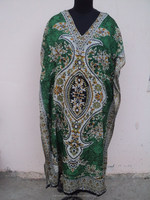 Ladies polyester islamic abaya Dress & maxi Satin gown / Indian Best quality long ponchos caftan