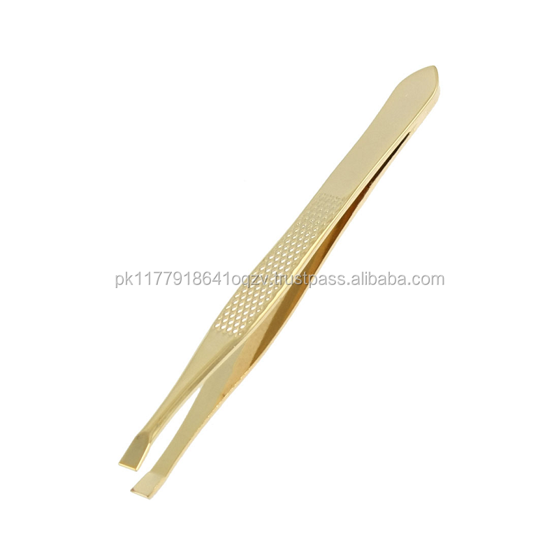 Mixing in Gold color in Eyebrow Tweezers