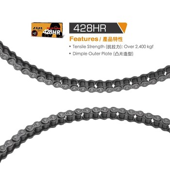 Taya Chain Motorcycle chain(428HR)Tensile strength