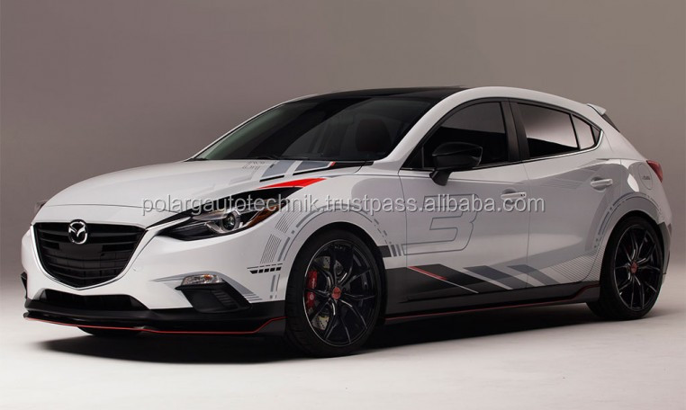 Mazda 3 hatchback 2014 ABS bodykit
