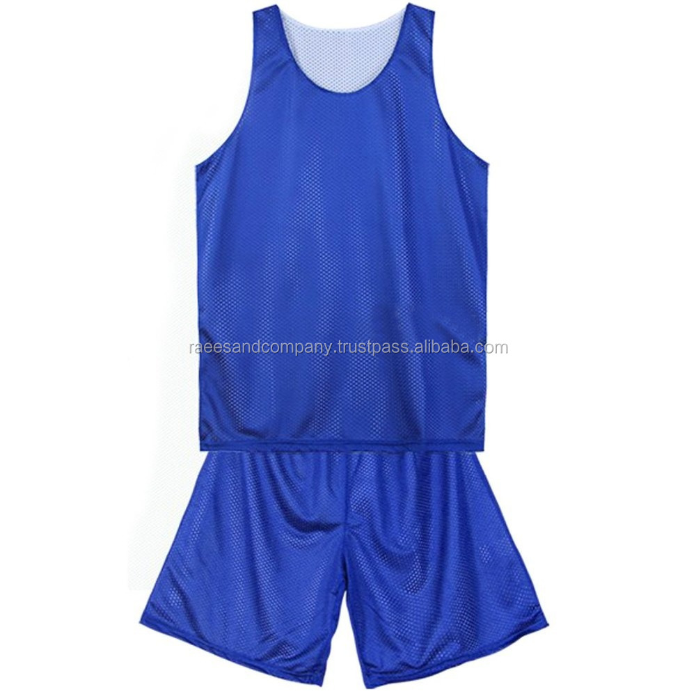 Basket Ball plain Uniforms Made with top quality air mesh fabric 100% polyester