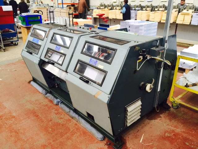 Used Booksewing machine Aster 150
