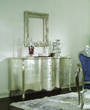 high grade hotel mirror dressing table with mahogany wood