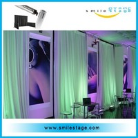 hotsale pipe and drape photo background at factory price
