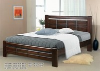 King & Queen Size Bed, Wooden Bed Frame