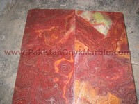 NATURAL STONE MULTI RED ONYX TILES COLLECTION