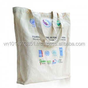 conference personalized handmade cotton cloth bag