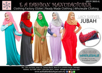LACY SLEEVES JUBAH