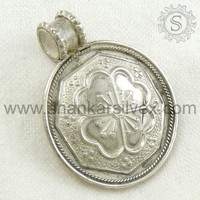 Best Selling Products 925 Sterling Silver Pendant Jewelry Wholesale, Handmade Silver Jewelry PNPS1089-1