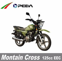 (PEDA Motor) 2016 Hot Sale 125cc EEC Cross Motorocycle Dirtbike Enduro for Sale COC big fuel tank18 inch tire (Montain Cross)