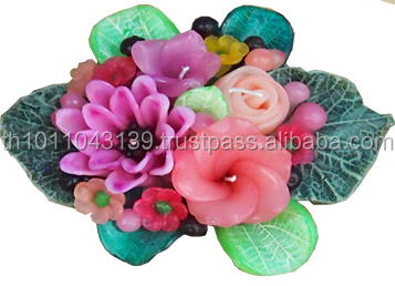 Aroma Candle Decorative Flower Candles