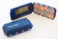 Pill box timer medication reminder alarm