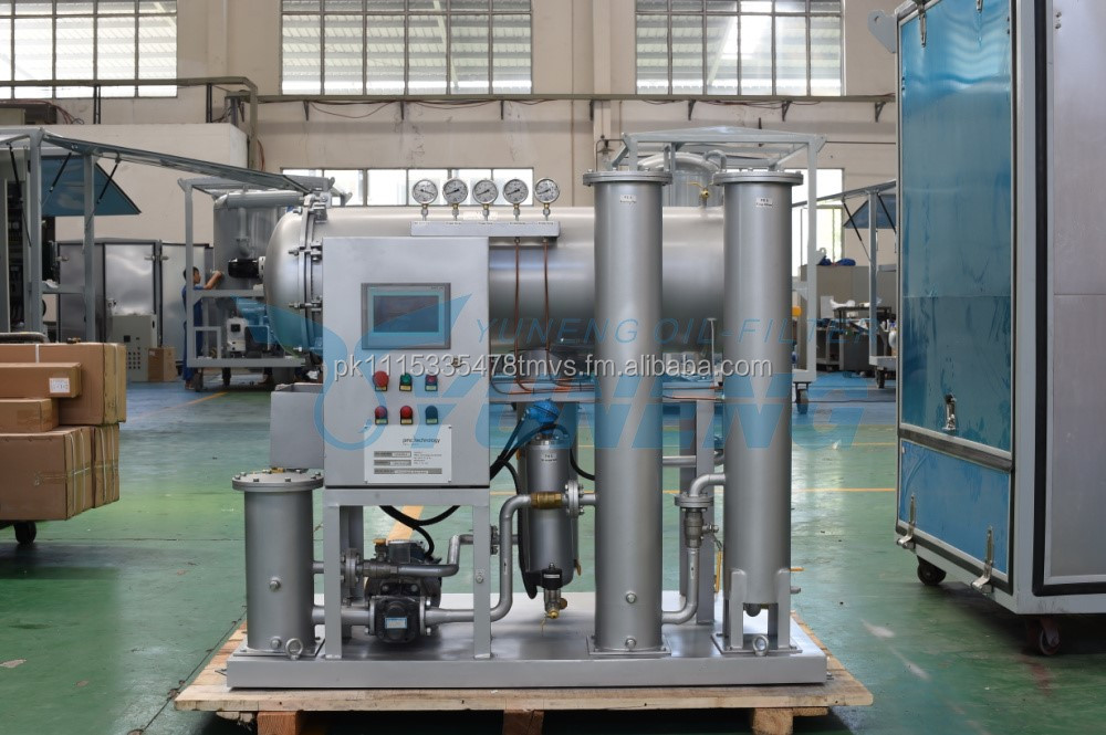 Oil Purification and Filtration Machinery