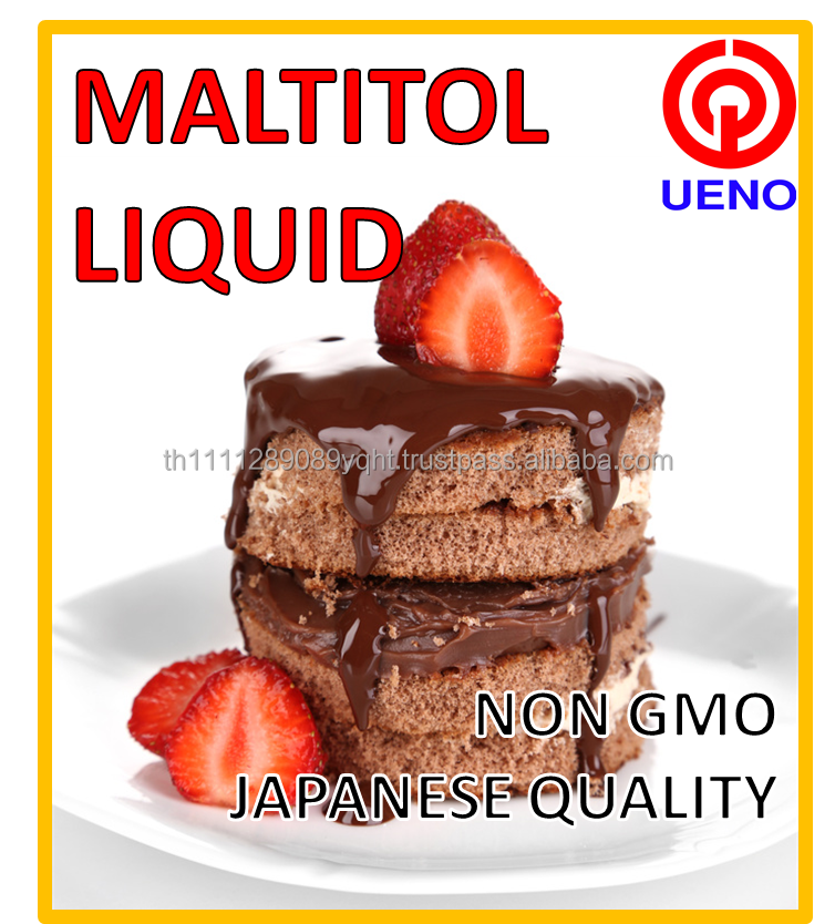 Keeping moisture in food Maltitol liquid used as preservatives for sponge cake