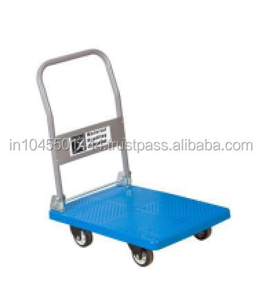 Interesting plastic trolley p-300 for shopping