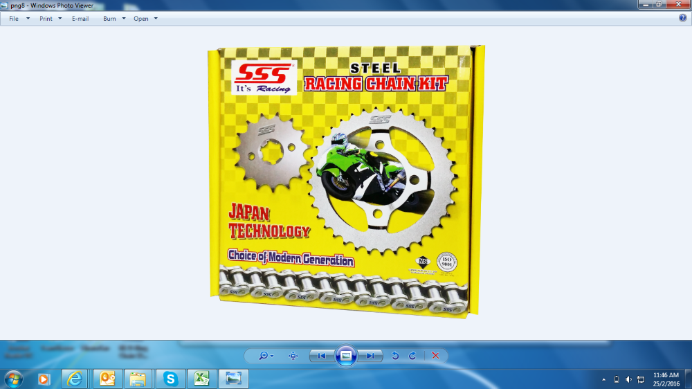 Racing Chain Kit
