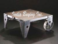 Indian wooden Vintage Industrial Furniture